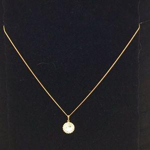 Swarovski 14K Gold Plated Necklace